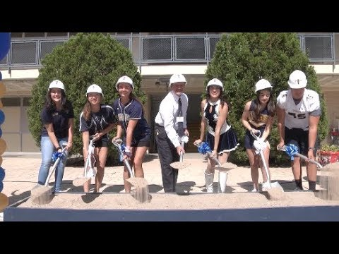 Groundbreaking at Coronado HS