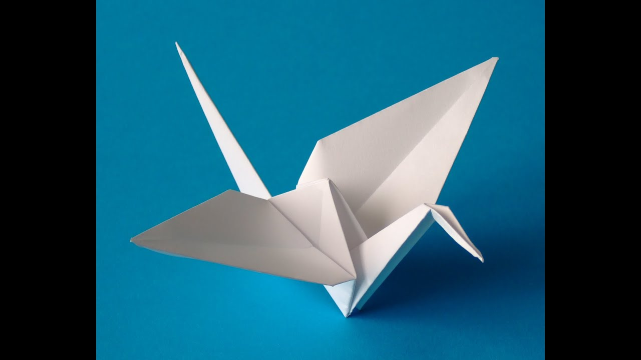 How to make an origami crane that flaps youtube how to make an origami crane that flaps jeuxipadfo Image collections
