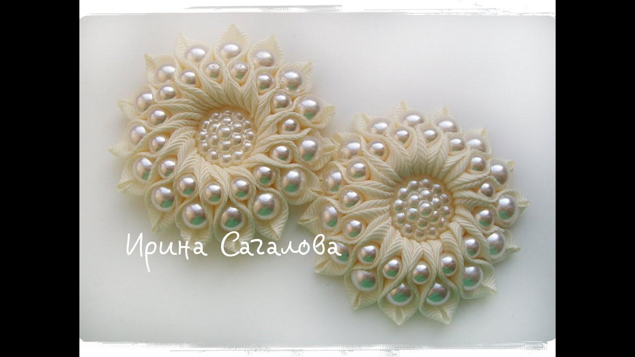 Канзаши медуза мастер класс фото