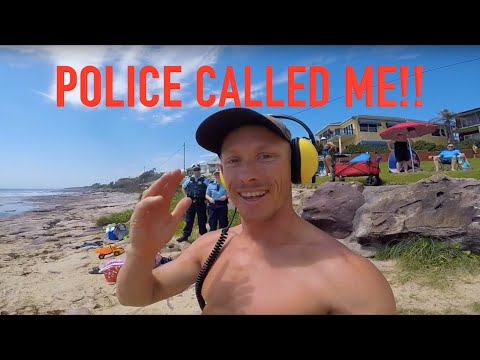 POLICE with GUNS CALLED!! Found $30,000 Buried Treasure Underwater Metal Detecting Owners Found