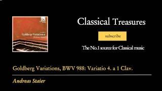 Johann Sebastian Bach - Goldberg Variations, BWV 988: Variatio 4. a 1 Clav.