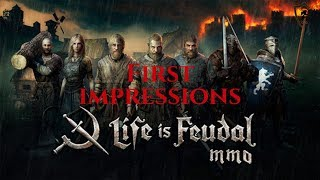 Life is Feudal: MMO - Patch 0.20.0 - 2019 Gameplay - First Impressions