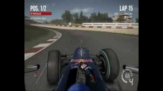 F1 2010 pc gameplay Catalunya