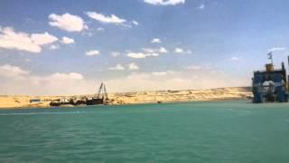 جولة سلطان الجابر وزير الدولة الاماراتى فى قناة السويس الجديدة وانبهار بالمشروع