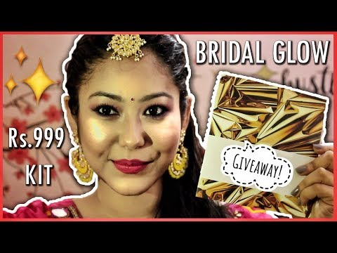 Indian Wedding Bridal GlowKit Under ₹999 + GIVEAWAY!