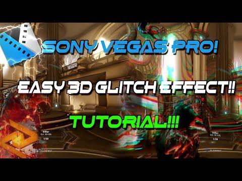 Sony Vegas Pro - Glitch Twitch Effect tutorial Easy! Alternative.