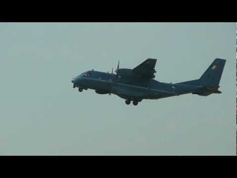 CASA/IPTN CN-235 Takeoff from Oxford