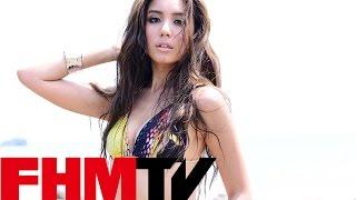 FHM 2014九月號Cover Girl 雙封面女星雷瑟琳 - 魔鬼曲線全都露