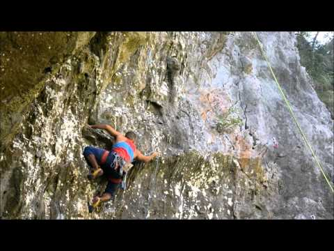 Okinawa Climbing / Lost World/ Middle Ground / Runaway Goat 5.11d