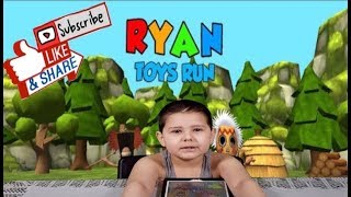 Ryan Toys Run I iOS & Android Game For Kids