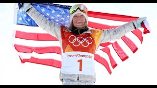 Winter Games: Jamie Anderson defends title to earn U.S. 2nd gold medal
