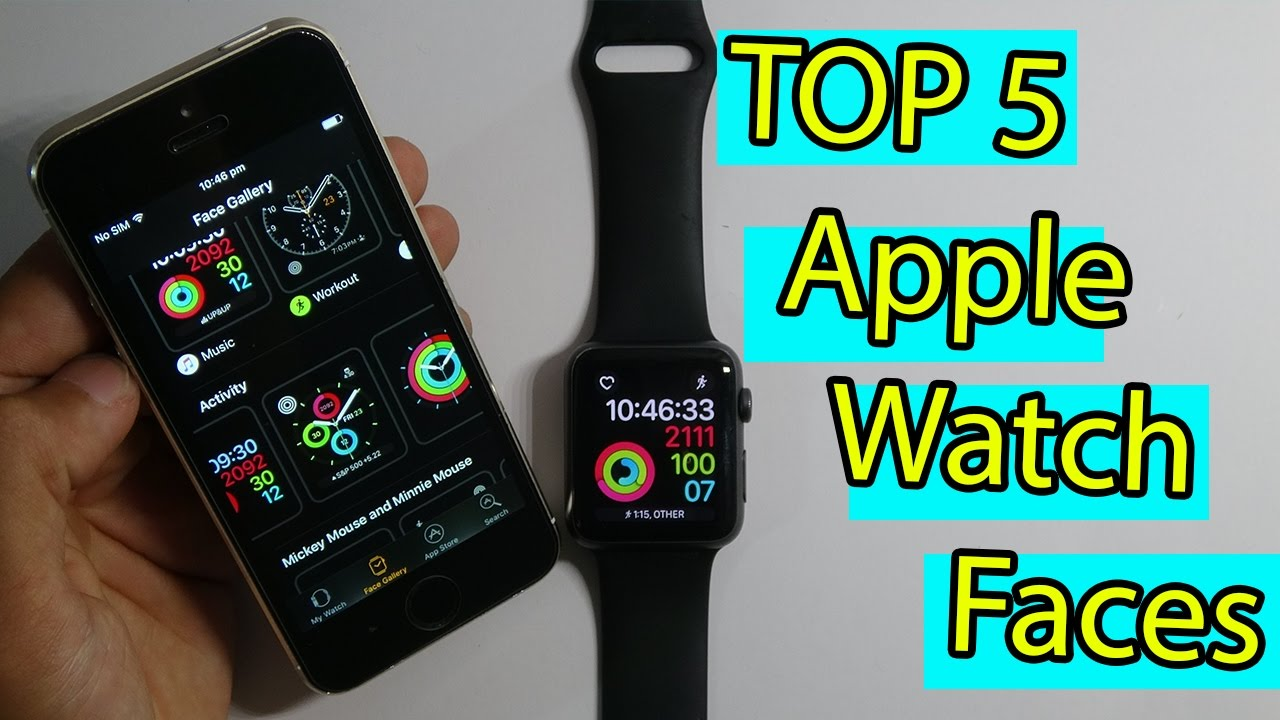 Top 5 Apple Watch Faces Watchos 3 Youtube