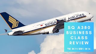 Luxury in the sky! ✨Singapore Airlines A380 Business Class Review | The Departure Desk