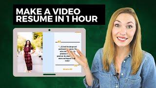 Video Resume: 3 Steps on How to Create a Video Resume in 2020 + Example!