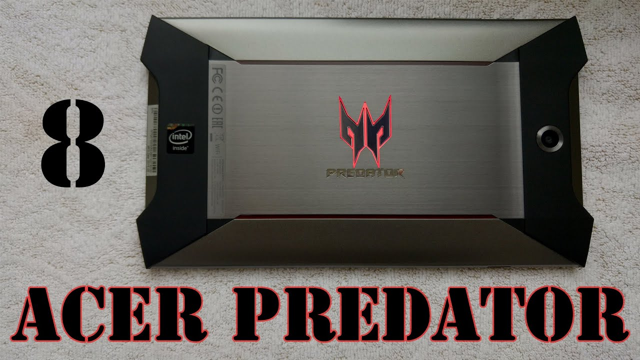 Acer Predator 8 Gaming Tablet GT-810 Honest Review