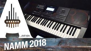 Casio - CTX & AP470 Keyboards - NAMM 2018