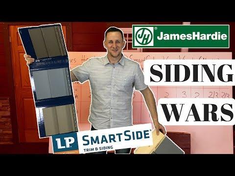 Siding Wars: James Hardie® VS LP SmartSide® VS Mastic® Quest (Vinyl)