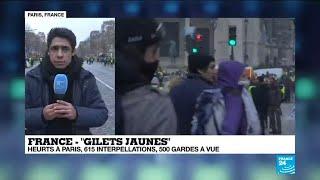 Karim Hakiki, notre envoyé spécial sur les Champs-Élysées, fait le point sur la situation à 16h