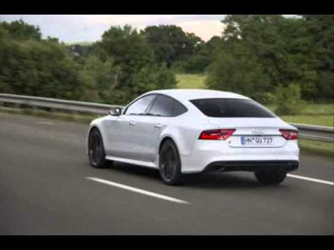 All New 2013 Audi Rs7 Sportback White Youtube