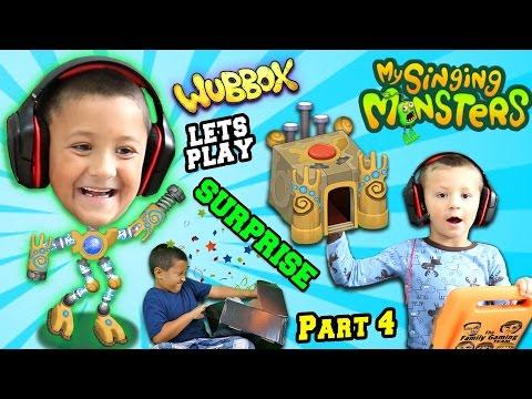 Lets Play MY SINGING MONSTERS Part 3!  WUBBOX Time w/ FGTEEV Mega Fan Surprise Box
