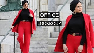 OFFICE LOOKBOOK ft Modanisa