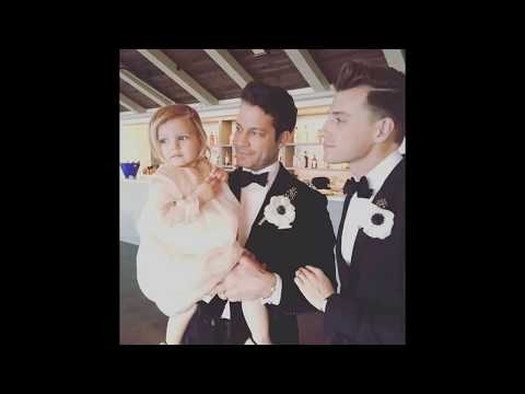 nate berkus jeremiah brent celebrate father 39 s day with daughter poppy youtube. Black Bedroom Furniture Sets. Home Design Ideas