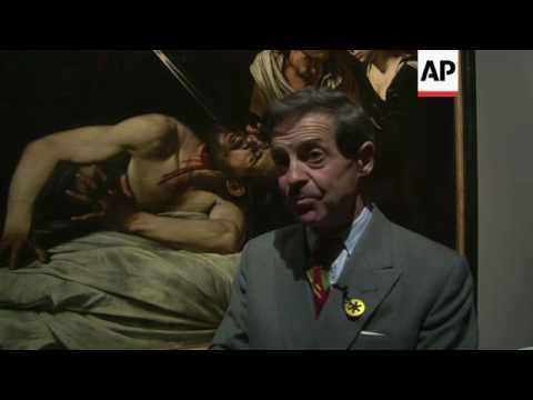 Disputed painting by Caravaggio to be unveiled