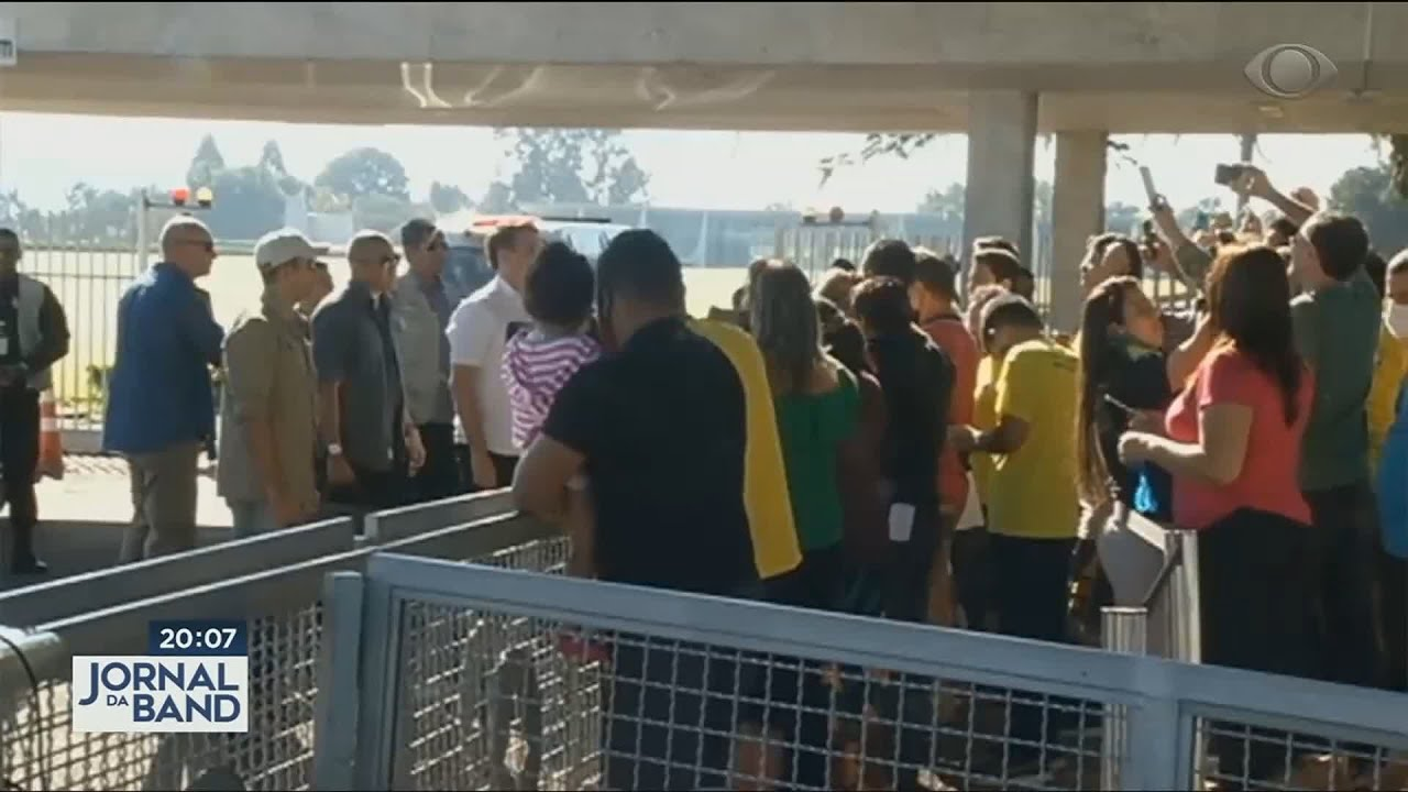Bolsonaro chama Moro de Judas em encontro com apoiadores