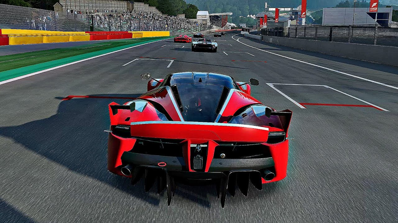 Forza Motorsport 7 , Gameplay Ferrari FXX K @ Spa Francorchamps [4K 60FPS  ULTRA]