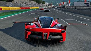 Forza Motorsport 7 - Gameplay Ferrari FXX K @ Spa Francorchamps [4K 60FPS ULTRA]