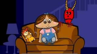Scary movie funny video kids cartoon
