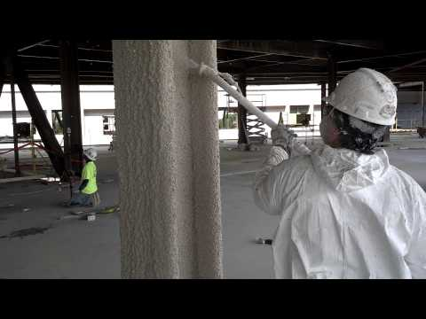 Dirty jobs - fireproofing with Kenneth Pencook