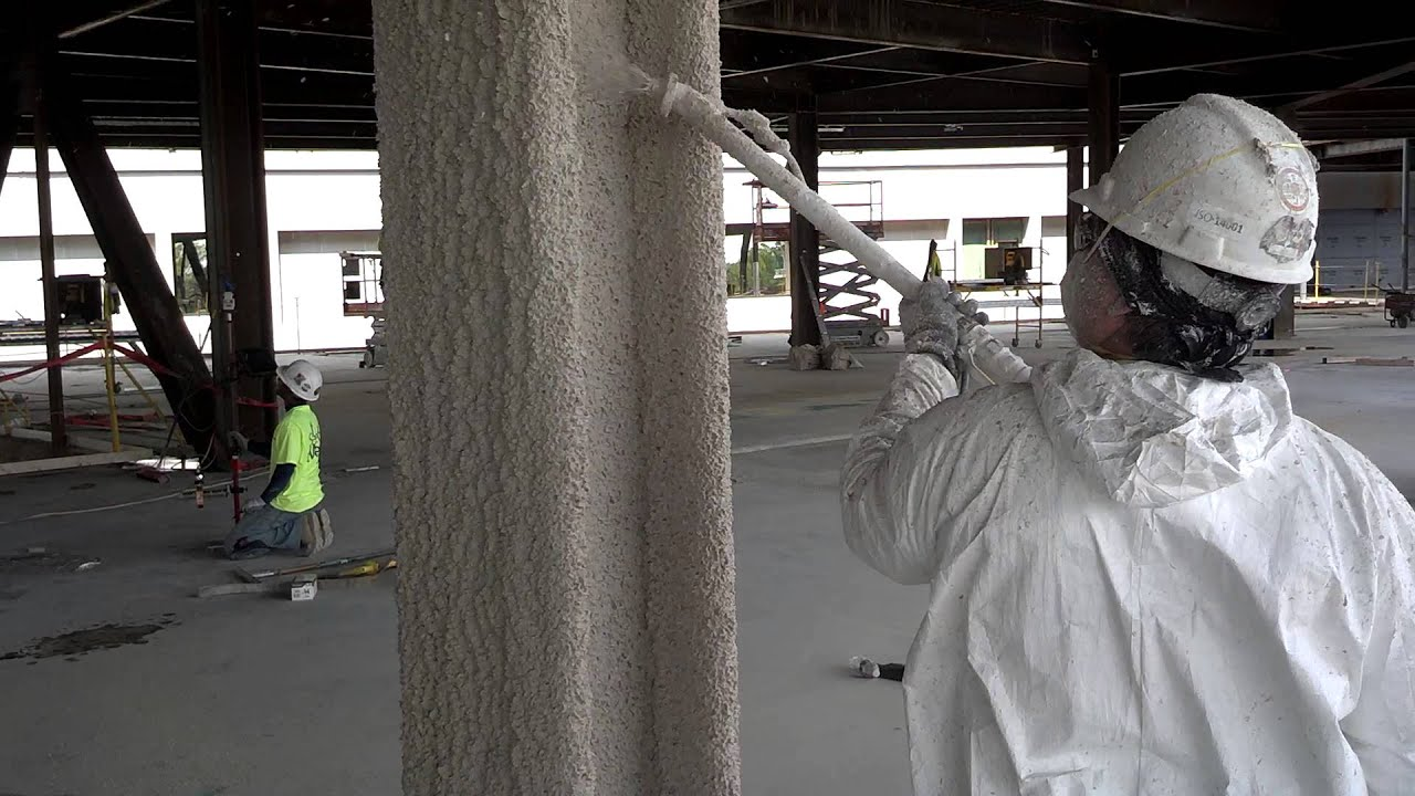 Dirty Jobs Fireproofing With Kenneth Pencook Youtube
