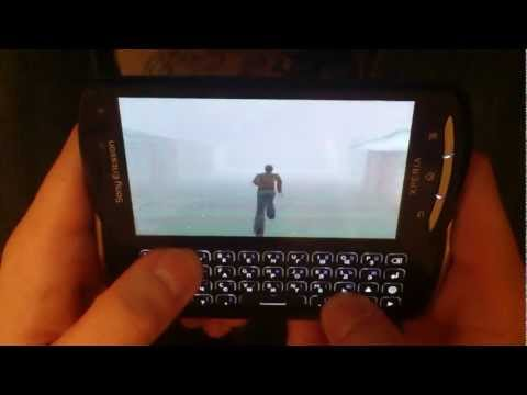 Sony Ericsson Xperia Pro Sony PlayStation Emulator + keyboard [Silent Hill]