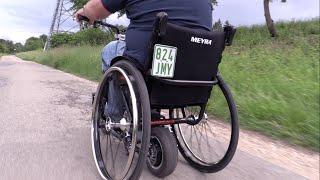 Neu Rollstuhl Heckantrieb Power Schubgerät