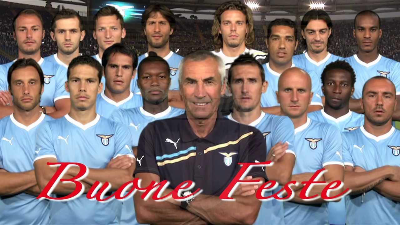 Gli auguri di Natale dei giocatori della S.S. Lazio - YouTube 1548ae57d7c