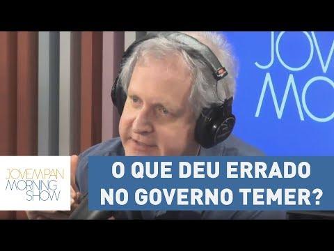 O que deu errado no governo Temer? Augusto Nunes e João Plenário comentam