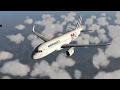 (X Plane 11) Toulouse to Gibraltar | Airbus A320-200!