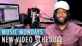 Music Mondays | New Video Schedule My Studio Equipment List: Audio ...