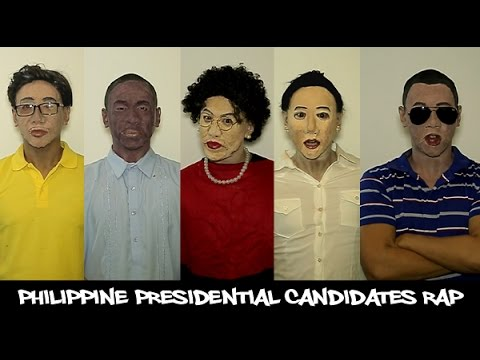 2016 Philippine Presidential Candidates Rap