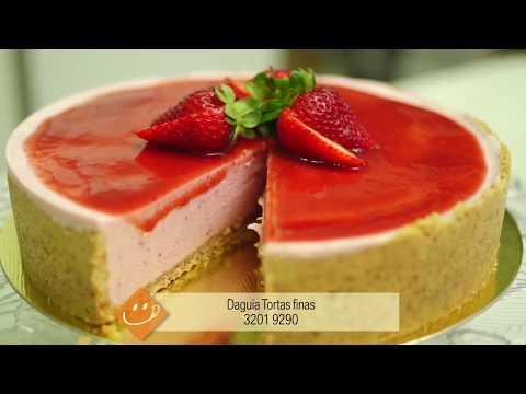 PROGRAMA PORTFÓLIO- Receitas Da Daguia- Torta De Morango