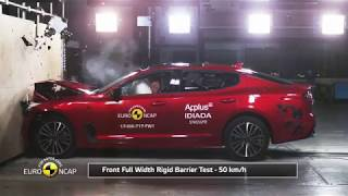 Euro NCAP Crash Test of Kia Stinger