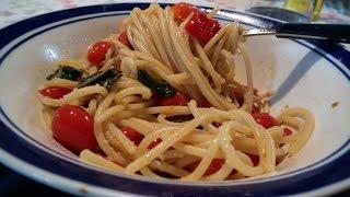 Vermicelli Con Pomodorini Grigliati (vermicelli Di Mimì)