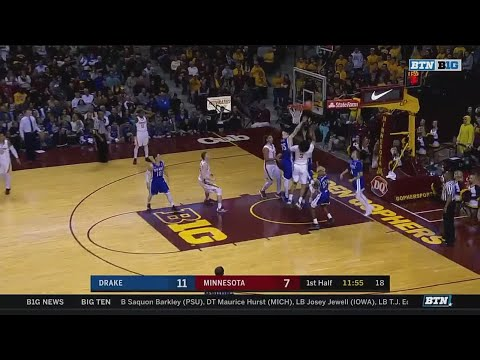 Drake at Minnesota - Men's Basketball Highlights