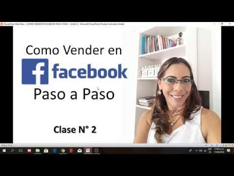 COMO VENDER EN FACEBOOK PASO A PASO - CLASE 2