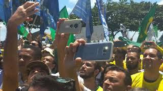 Magno Malta em Salvador emoção Encontro Pro Bolsonaro/Lulu Bahia TV Entertainment News