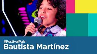 Bautista Martínez en la Fiesta Nacional de La Chaya 2020   Festival País