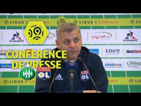Conférence de presse AS Saint-Etienne - Olympique Lyonnais (0-5) / 2017-18