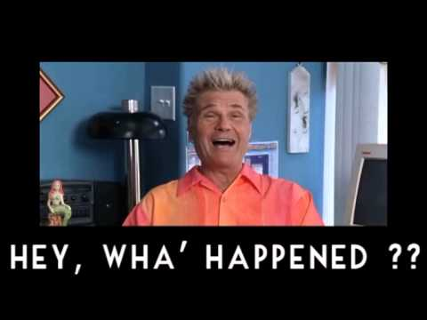 HEY WHA' HAPPENED YouTube Magnificent Fred The Movie Quotes