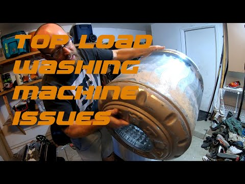 High Efficiency Top Load Washer Cleaning / Issues